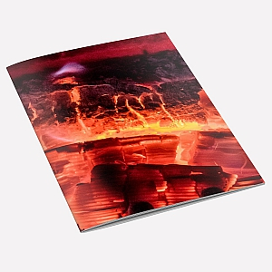 view Fire Glow A6 Notebook details