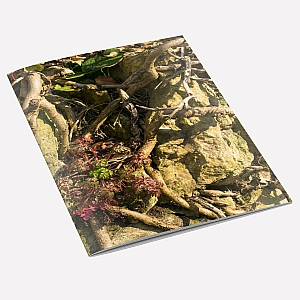 Tangled Wall A6 Notebook