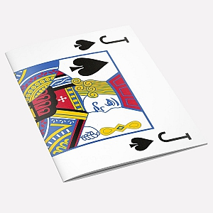 view The Knave of Spades A6 Notebook details