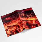 Fire Glow A6 Notebook