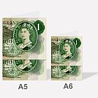 Pound Note A6 Notebook