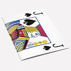 The Knave of Spades A6 Notebook