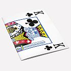 The King of Clubs A6 Notebook